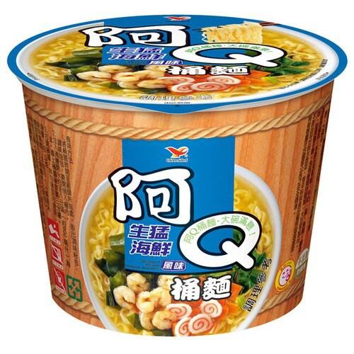 阿Q桶麵 生猛海鮮 12入碗裝 限桃園新竹台北購買