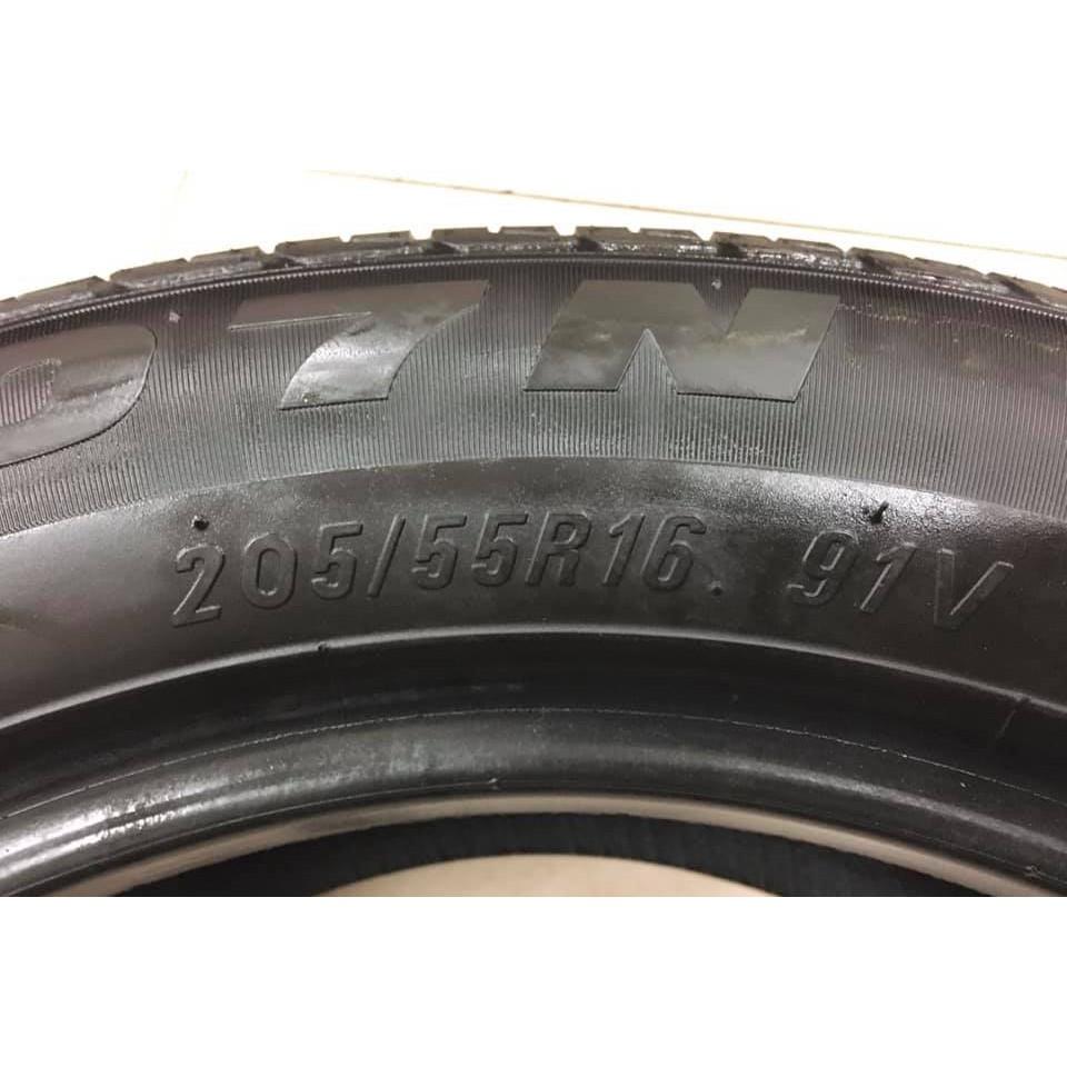 【優質輪胎】瑪吉斯MA307_205/55/16_單條16年六五成新(胎紋4.7mm_205-55-16)三重區