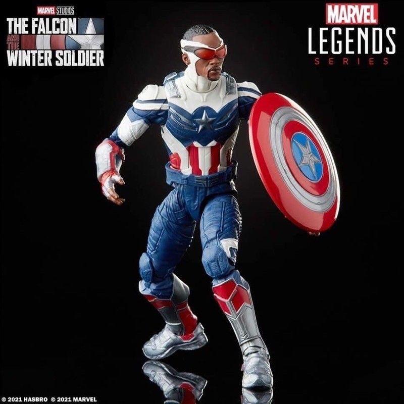 Marvel legends 獵鷹美國隊長 6吋 獵鷹與酷寒戰士