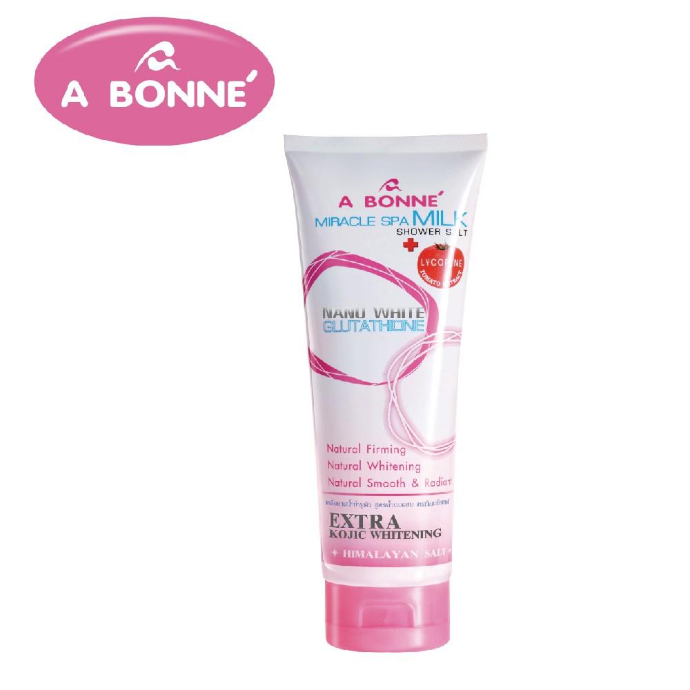 【A BONNE'】溫泉牛奶SPA身體去角質沐浴鹽精華乳