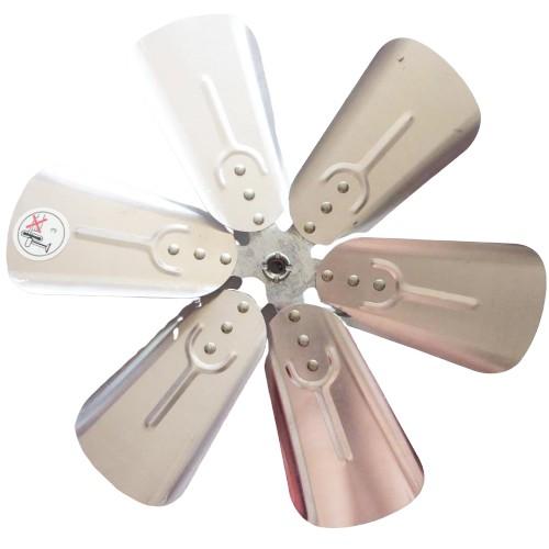 【永用牌】 8吋10吋12吋14吋16吋18吋排風扇專用鋁合金扇葉-抽風機扇葉 市售軸心8mm排風扇都適用【蘑菇蘑菇】