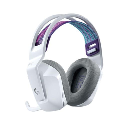 Logitech 羅技 G733 無線耳機 RGB 炫光 電競耳麥 白色