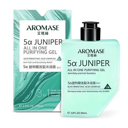 Aromase 艾瑪絲 5α捷利爾洗髮沐浴露(3合1)80ml【小三美日】DS000680