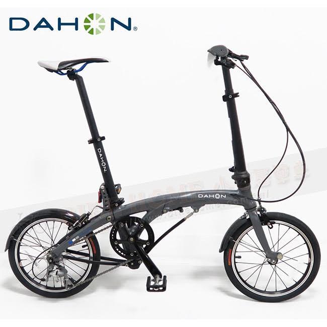 小哲居 DAHON EEZZ D3 亞光灰 3速折疊車 16吋輪組 縱向折疊車王者 收折體積超小 超高穩定騎乘性 免運