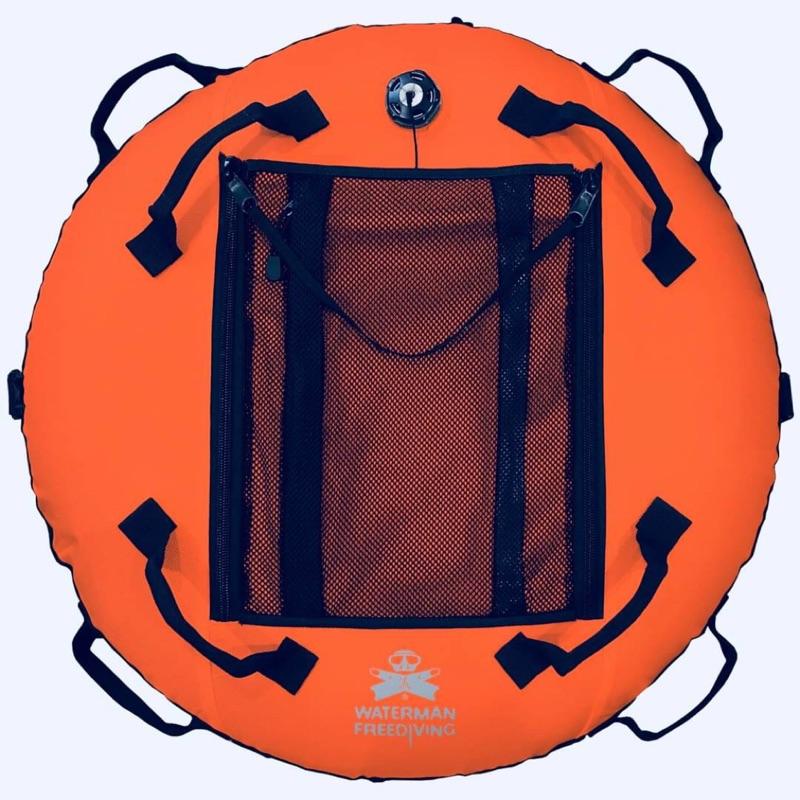 WhaterMan 保固三年 自由潛水浮球 專業版 贈20米下潛繩