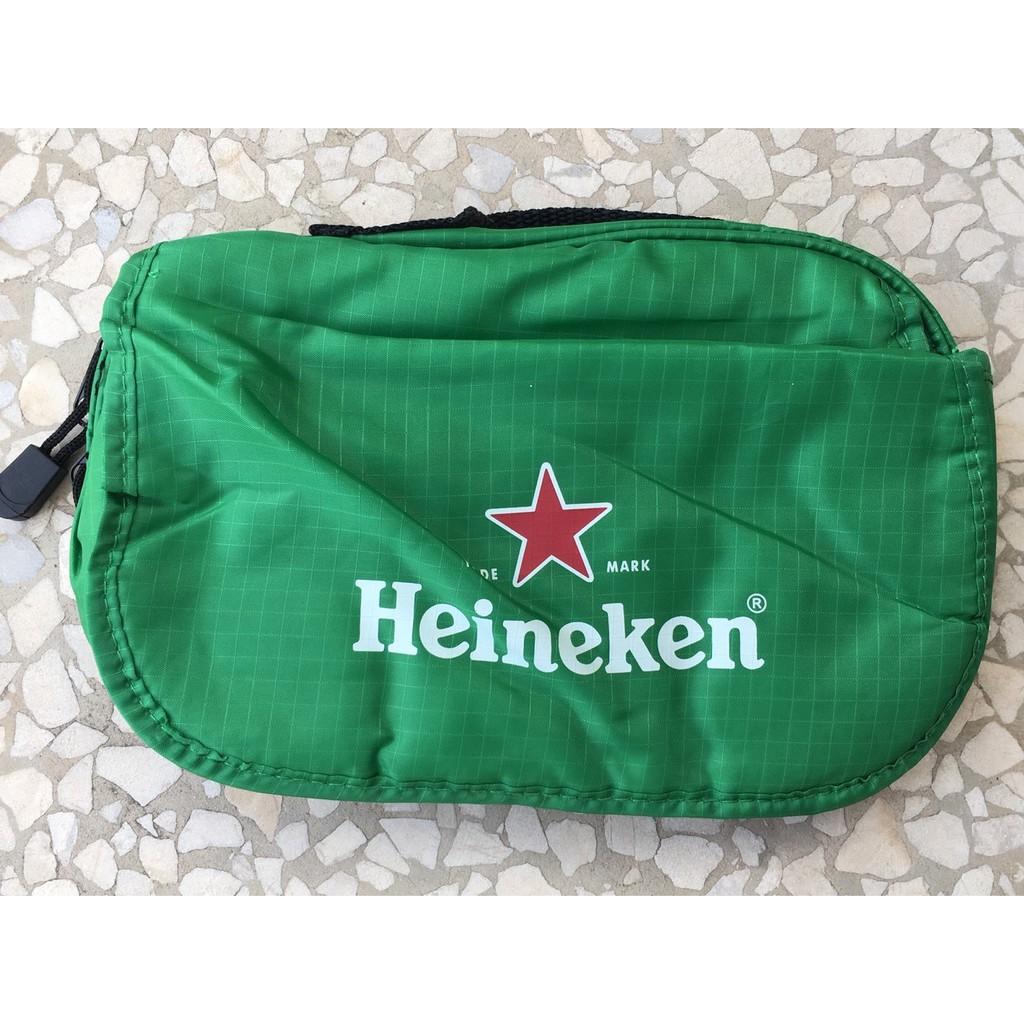 Heineken 海尼根出國萬用包│收納袋│手提袋│手拿包│全新