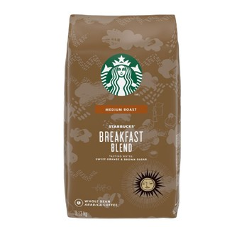 科克蘭 STARBUCKS 星巴克 早餐 黃金烘培 派克 咖啡  咖啡豆 衣索匹亞 阿拉比卡 藍山 熱帶雨林 深培 臺中市