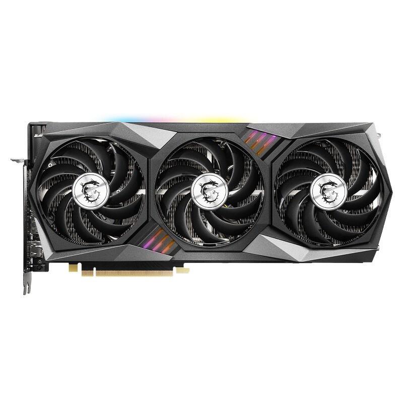 現貨 MSI/微星GeForce RTX 3060 GAMING X TRIO 12G顯卡魔龍超頻版