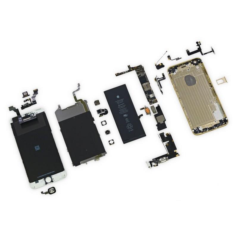 119-IPHONE6 PLUS更換電池/螢幕/前鏡頭/後鏡頭/聽筒/尾插模組/HOME鍵/維修主機板各種故障維修