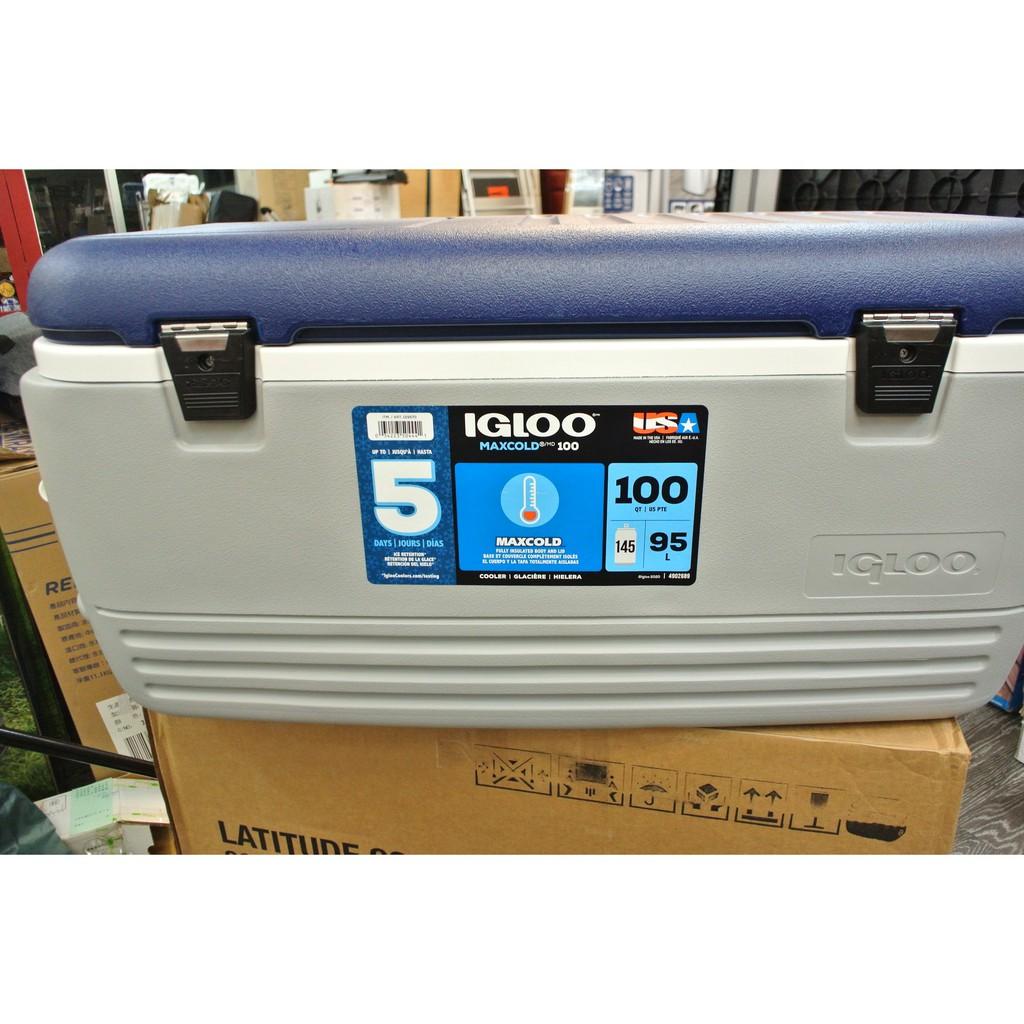 進口 Igloo MaxCold Cooler 美國製 95公升冰桶,特價$2,029