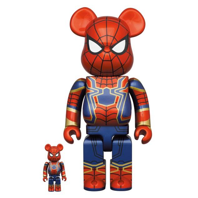 《潮流本舖》現貨 Be@rbrick Bearbrick Iron Spider man 鋼鐵蜘蛛人 蜘蛛人 500%
