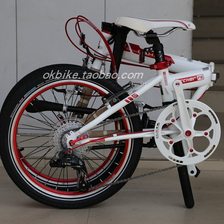 【車居生活館】DAHON大行折疊車 20寸自行車 KBC083Y  P8 SP8