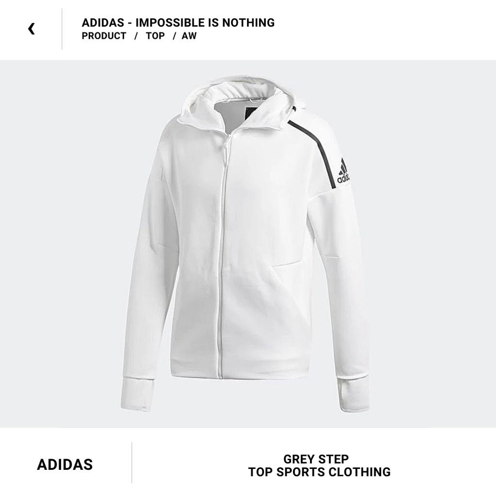 ADIDAS 愛迪達  ZNE  運動外套 防風外套 3.0 零秒解鎖 CY9903 白色 黑色 全新正品 統一發票