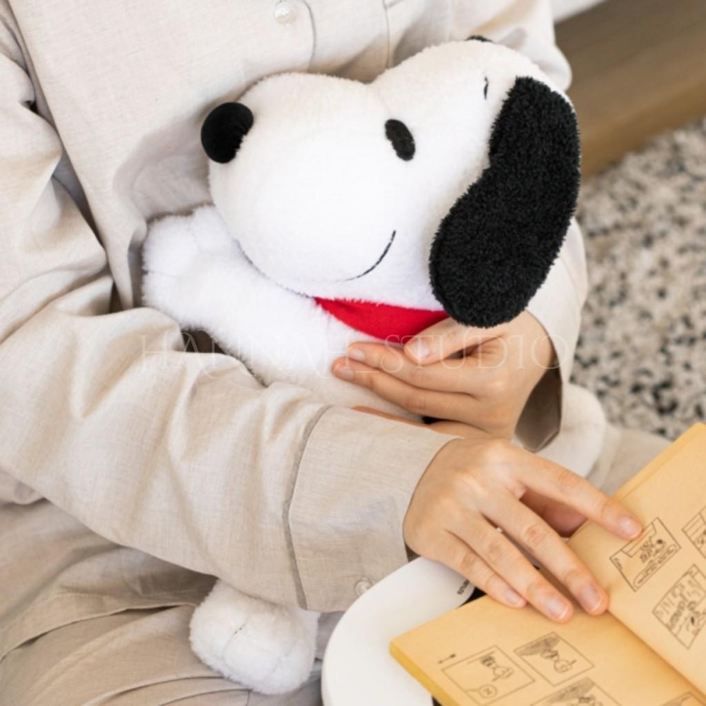 【漢娜代購】✨預購✨韓國 10X10 史努比 娃娃 SNOOPY 可放暖暖包