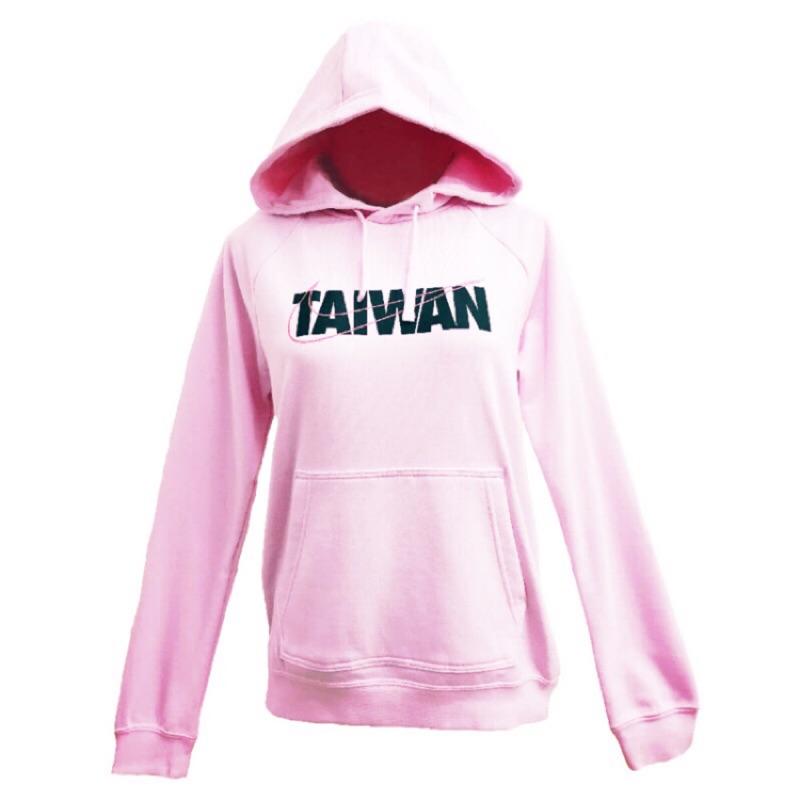 [Nike] 女款運動連帽上衣 Taiwan 淡粉色 CU1623630《曼哈頓運動休閒館》