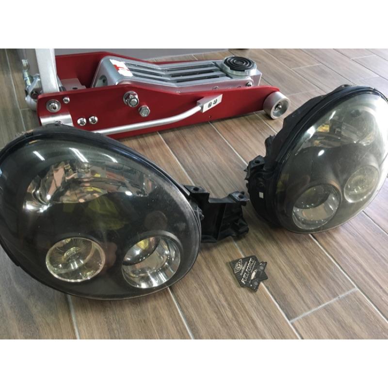 GDB 丸目 圓燈 Impreza WRX STi 大燈 燻黑 左駕光型 圓燈鯊 2002 2003 七代 STi