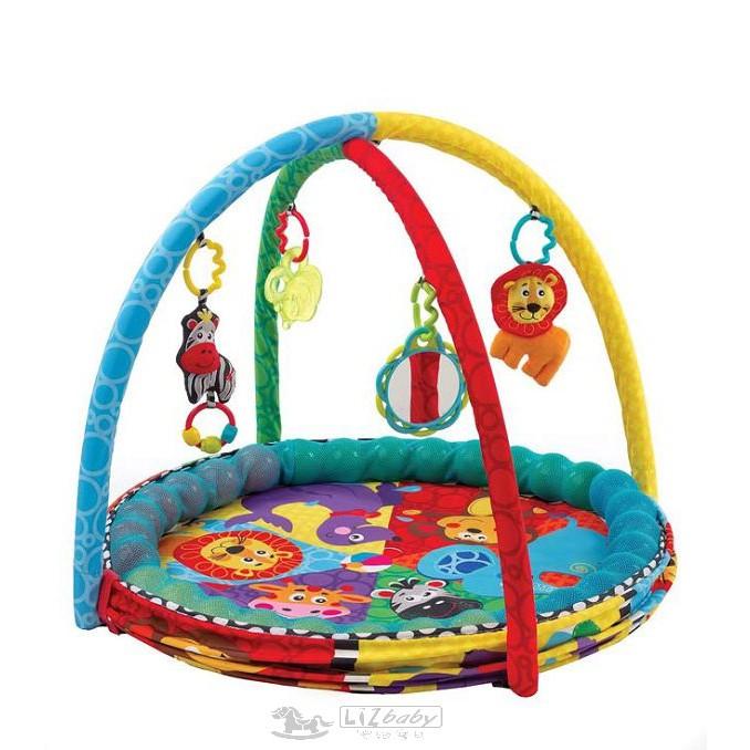 Playgro 動物球池三階段遊戲墊