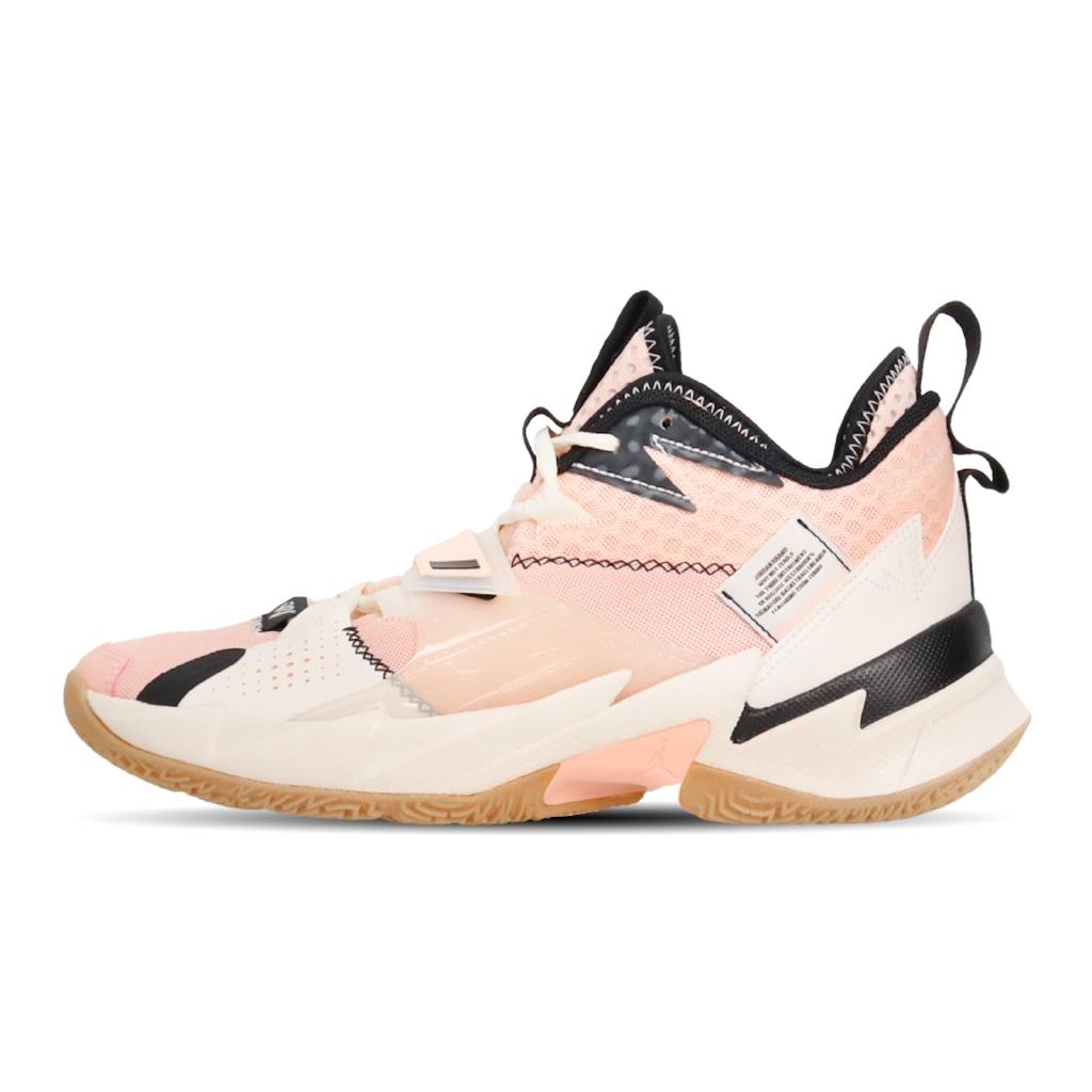 Nike 籃球鞋 Jordan Why Not Zer0.3 PF 粉紅 黑 男鞋 【ACS】 CD3002-600