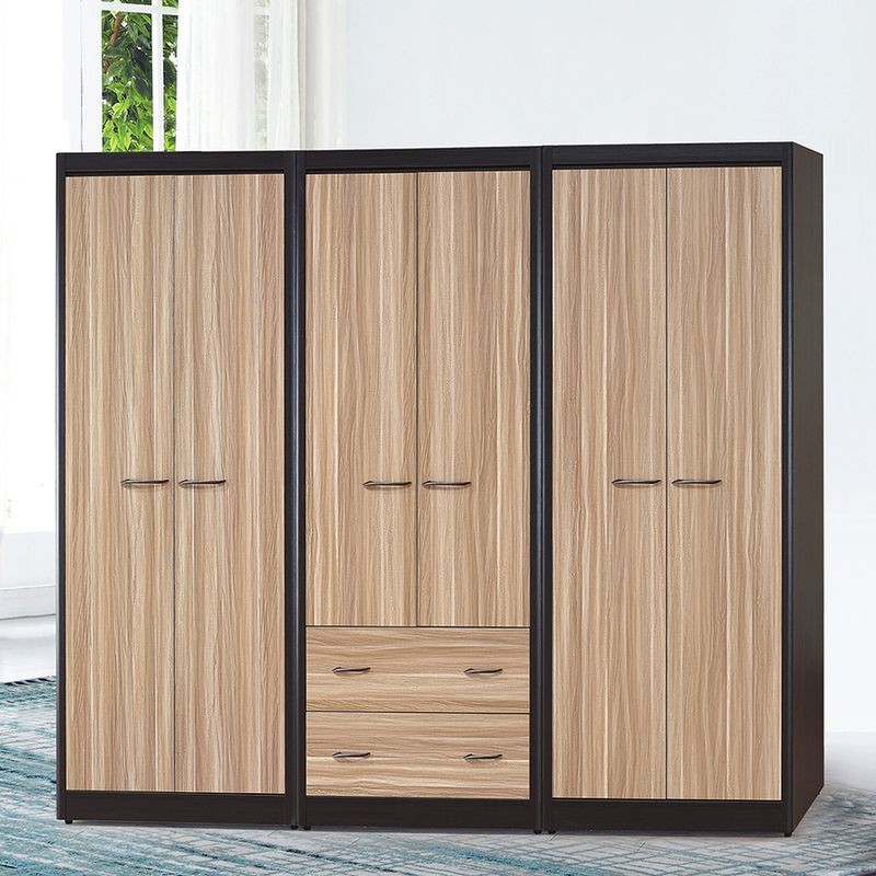 【YA203-1】雙色2.7尺單吊衣櫥