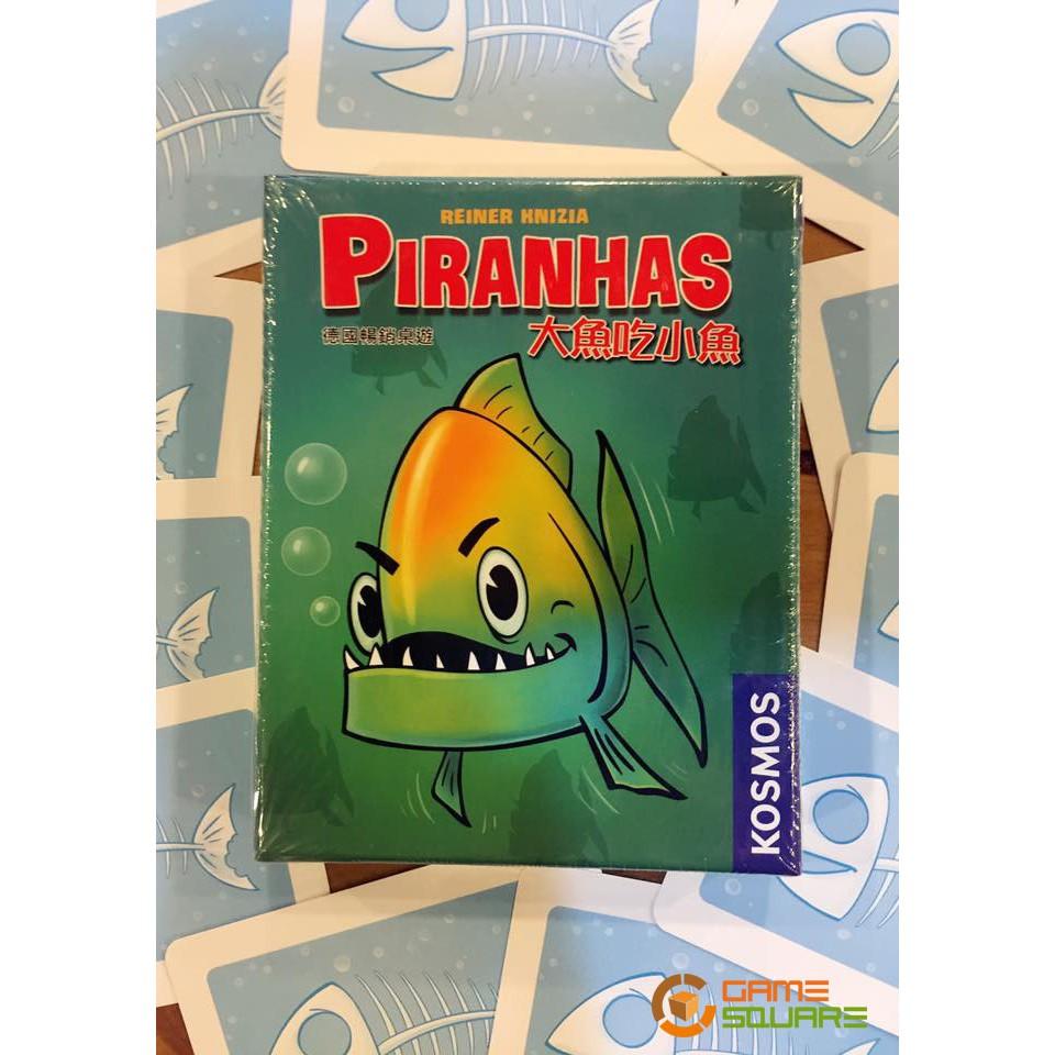 【遊戲平方實體桌遊空間】大魚吃小魚 Piranhas 正版 桌遊 24小時出貨