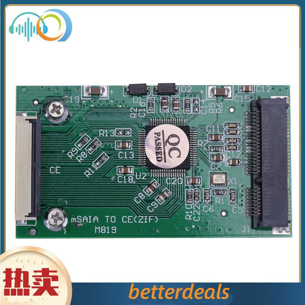 1.8寸msata轉CE|ZIF介面轉卡|1.8吋SSD硬碟轉CE msata轉ZIF
