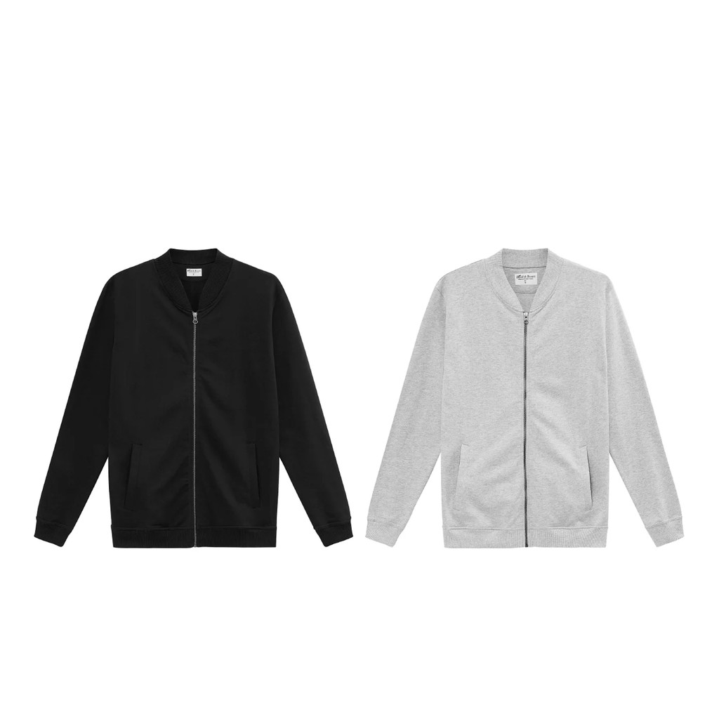 [獨家代理] Bread&Boxers Jersey Jacket 男用純棉外套 外套 夾克 棉外套 棒球外套 休閒外套