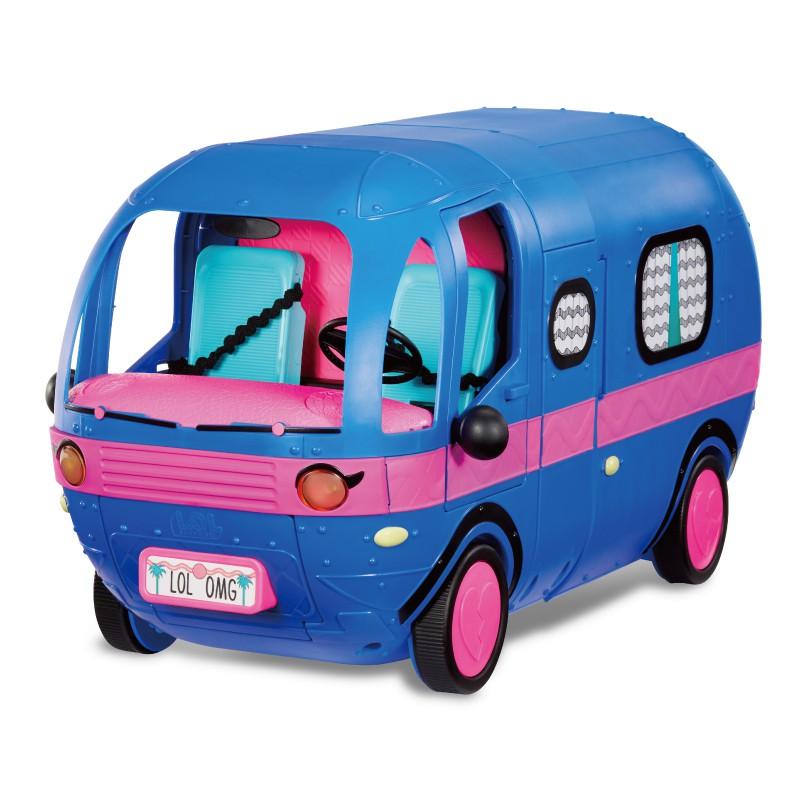 LOL Surprise 驚喜旅行車(電鍍藍) 玩具反斗城