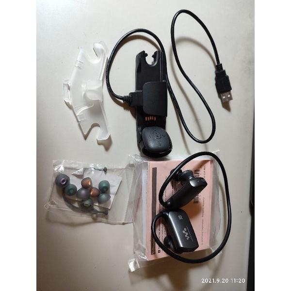Sony NWZ-WS613無線防水隨身聽,防水藍芽耳機,游泳專用,耳機,隨身聽