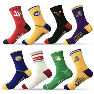 (限時下殺)籃球襪中筒男款GN隊湖人火箭球隊運動訓練跑步襪防滑籃球襪子男多買優惠
