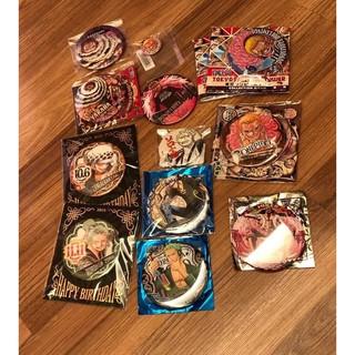 海賊王 one piece 徽章 多佛朗明哥、卡塔庫利、索隆、羅 新北市