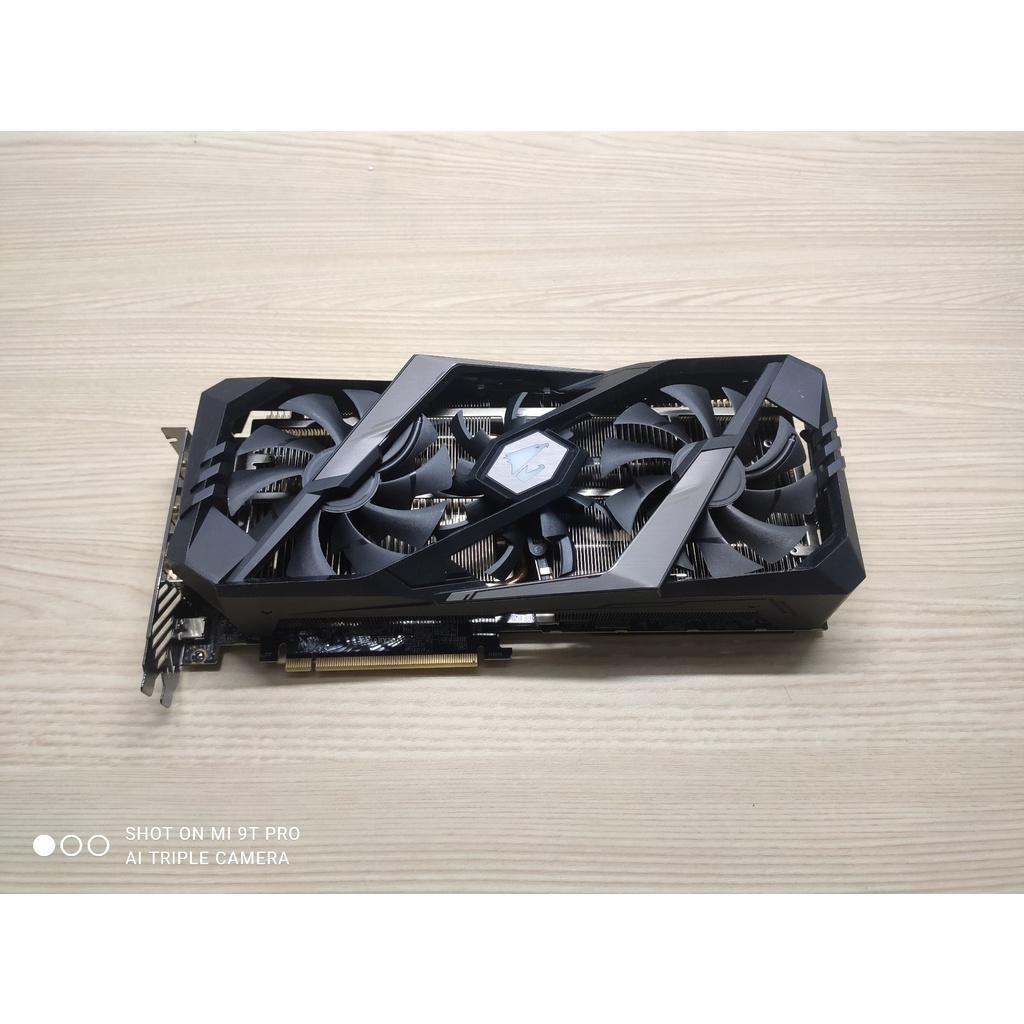(暫售)AORUS RTX 2080 XTREME 8G 顯示卡 面交有折扣 非3070 3080 3090