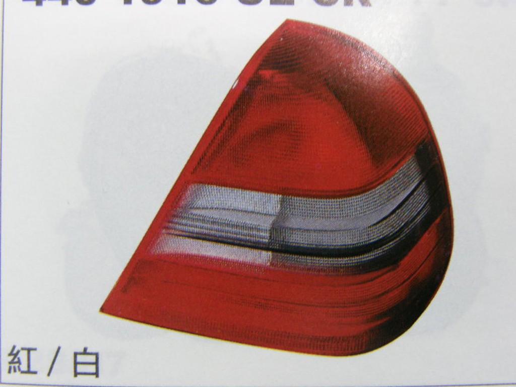BENZ 賓士 W202 94 97 後燈 尾燈 (紅白,紅黑) 其它來令片,皮帶,昇降機,發電機,啟動馬達 歡迎詢問