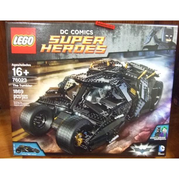 【積木2010】樂高Lego-全新未拆 76023 蝙蝠車 The Tumbler