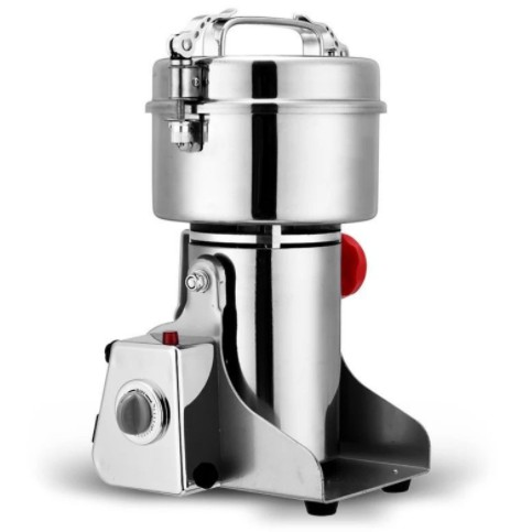 【免運】110V磨粉機 800G打粉機 粉碎機 搖擺式研磨機 800克磨粉機 中藥材研磨機 電動超細打碎機