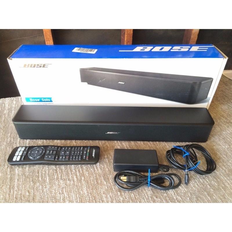 現貨 Bose Solo 5 TV sound system 電視 音響 系統 家庭劇院 全新盒裝 原廠保固 台北當日到