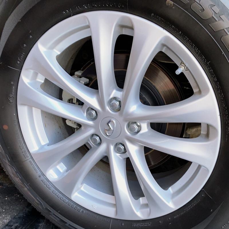 高雄人人輪胎 新車落地 Infiniti QX70 18吋 原廠鋁圈 5孔114.3 8J ET50 不含輪胎 一組四顆