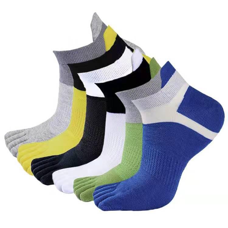 型男運動五指襪 舒適乾爽/純棉材質/吸汗止滑/高彈親膚/品質襪/馬拉松襪/運動襪/透氣襪