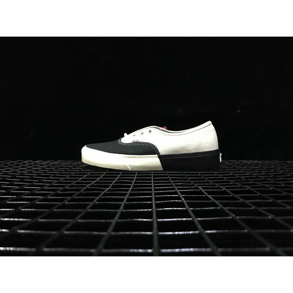 Vans Old School 黑白低幫男女鞋VN0A38ESMS5偏大一碼35-44  3e342e8efb