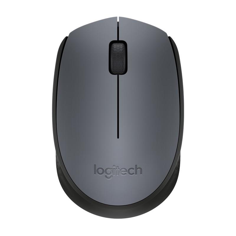 全新 Logitech 羅技無線滑鼠 M170 M171 灰黑 無線 滑鼠 迷你接收器