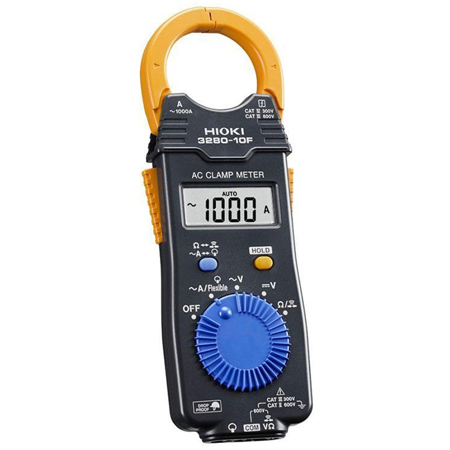 [原廠公司貨-依序號保固一年] HIOKI 日本製造數位交流鉤表 3280-10F