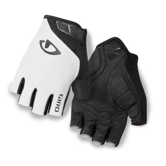 GIRO手套 - JAG 入門手套.CP值高. 簡單舒適 (白色)