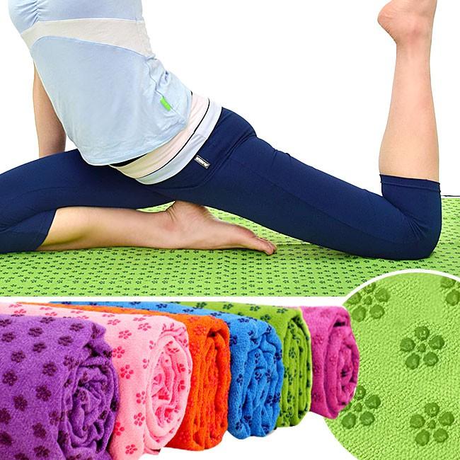 100%超細纖維瑜珈鋪巾D087-125(送收納袋)運動鋪巾運動墊瑜珈墊.止滑墊防滑墊瑜珈毯子