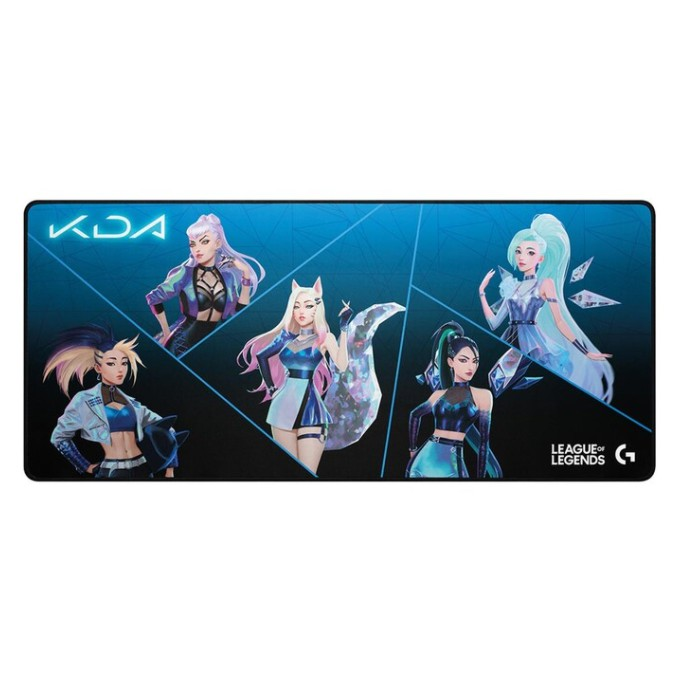羅技 K/DA 大尺寸遊戲鼠墊 G840 好市多代購 #131476