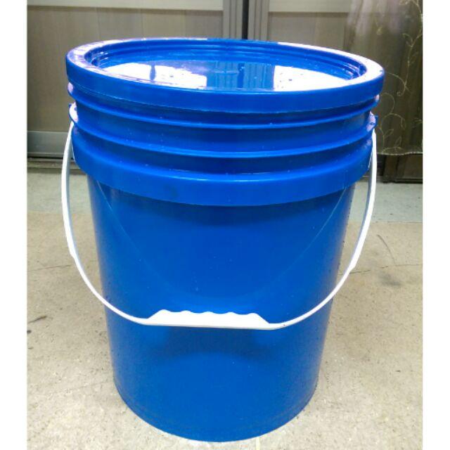 二手 20L塑膠桶 儲物桶 密封桶 油漆桶