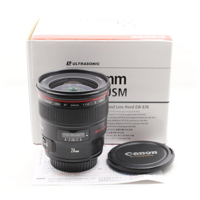 【台南橙市3C】Canon EF 24mm f1.4 L II USM UZ鏡 二手鏡頭 公司貨 #06764