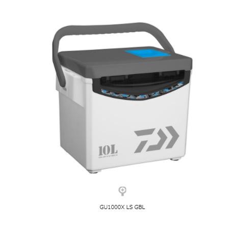 💢 桃園東區釣具【Daiwa  COOL LINEα LS GU1000X LS GBL 內附置竿架/小物盒 冰箱 】