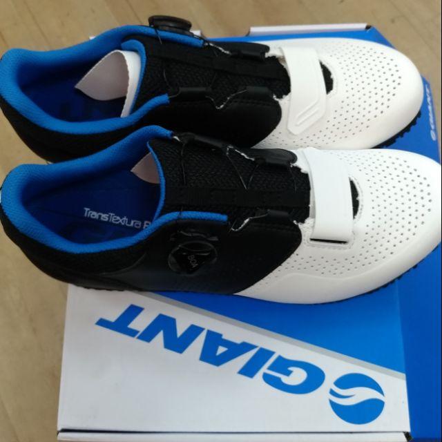 ★小葳精選★GIANT 捷安特 PRIME 自行車專用硬底鞋(Boa旋鈕) 第二代全新到貨 白藍