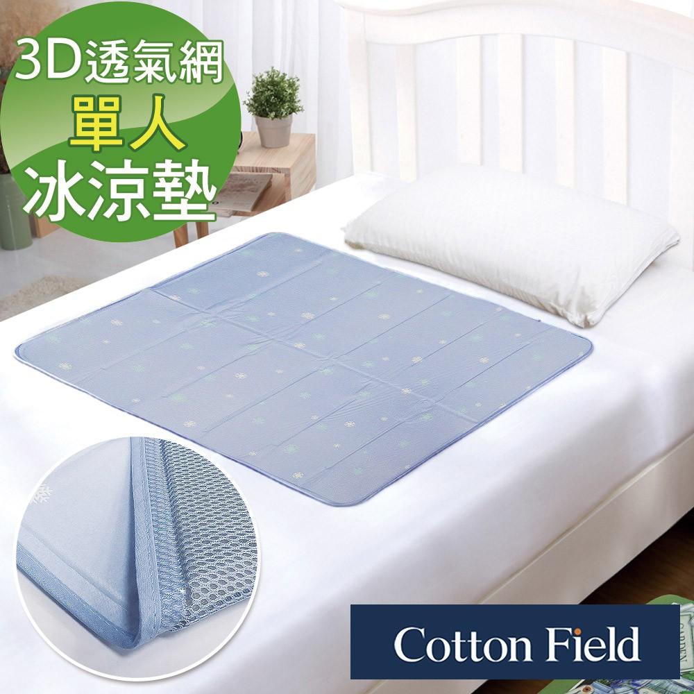 棉花田【北海道】3D網低反發冷凝床墊(90x90cm)