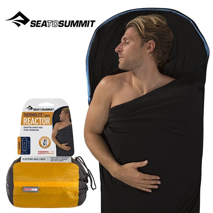 【Sea To Summit 澳洲】Thermolite 單人睡袋內套 睡袋溫度+8度 (AREACTOR)