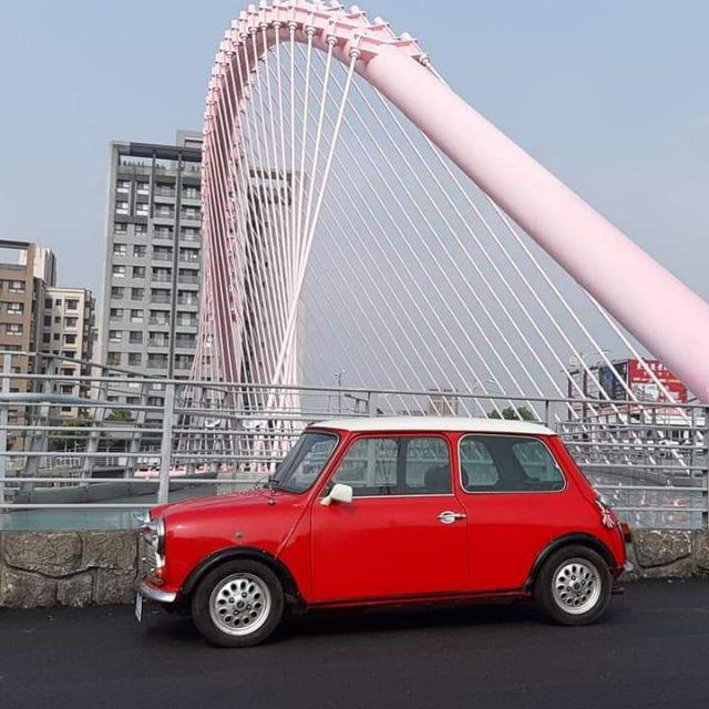 MINI手排【正牌】$28.9萬 💥#手排經典mini馬力強勁如虎#1990年 998cc 紅白色 #原廠手排  4缸